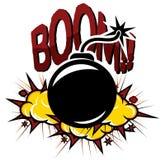 Bomba retro Imagem de Stock