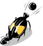 Bombadier甲虫 库存图片