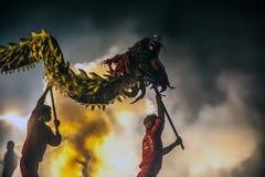 Bombardamento del drago 2015 Fotografia Stock