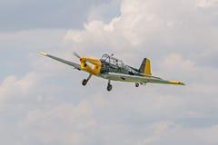 Bombardeiro alemão histórico Zlin 205 fotos de stock