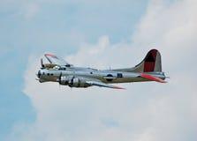Bombardeiro da segunda guerra mundial imagens de stock