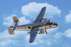 Bombardeiro de B-25 Mitchell Fotografia de Stock