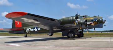 Bombardeiro de B-25 Mitchell Fotografia de Stock Royalty Free
