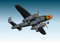 BOMBARDEIRO DE B25-J Imagem de Stock