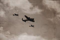 Bombardeiro de Lancaster Fotos de Stock