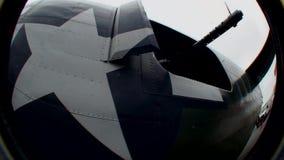 Bombardeiro do libertador WW2 do U.S.A.F.B-24 - 1 video estoque