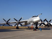 Bombardeiro Tu-95 Fotos de Stock Royalty Free
