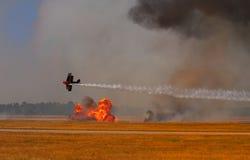 Bombardement photo stock