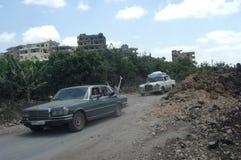Bombardement israélien image libre de droits