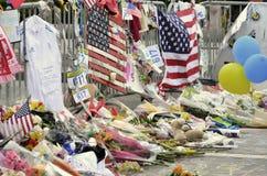 Bombardements de Boston Photos libres de droits
