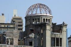 bombardera kupolen hiroshima japan arkivbilder