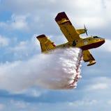 Bombardero 415 Superscooper foto de archivo