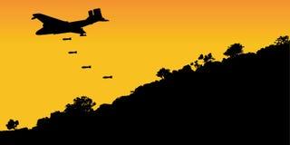 Bombardero stock de ilustración