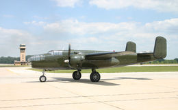 Bombardero B-25 imagenes de archivo