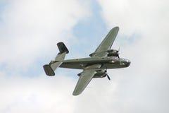 Bombardero de B-25 Mitchell fotos de archivo