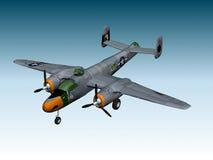 BOMBARDERO DE B25-J Ilustración del Vector