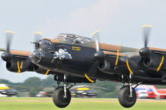 Bombardero de Lancaster Fotos de archivo