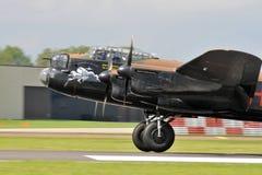 Bombardero de Lancaster Foto de archivo