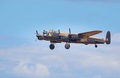 Bombardero de Lancaster Imagen de archivo libre de regalías