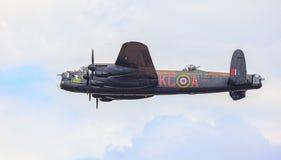 Bombardero de Lancaster Imagenes de archivo