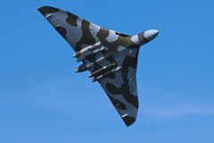 Bombardero de Vulcan Fotografía de archivo libre de regalías