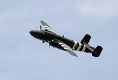 Bombardero de WWII Fotografía de archivo libre de regalías