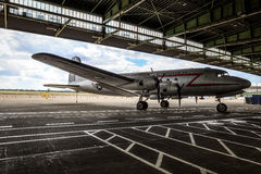 Bombardero del caramelo en Tempelhof Imagenes de archivo