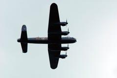 Bombardero Normandía 2014 de Lancaster Foto de archivo