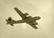 Bombardero pesado de la Segunda Guerra Mundial imágenes de archivo libres de regalías