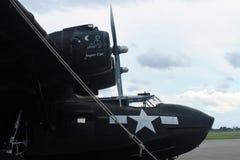 Bombardero WW2 el Memorial Day de la exhibición Foto de archivo