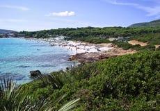 Bombardez la plage Photographie stock