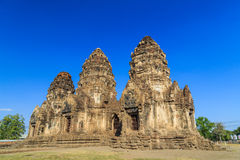 Bombardi il tempio di Sam Yot Fotografie Stock Libere da Diritti