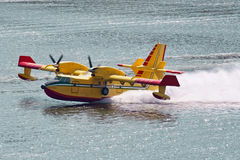 Bombardier 415 firefighting aircraft Royalty Free Stock Photo