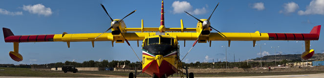Bombardier 415 Superscooper Stock Photos