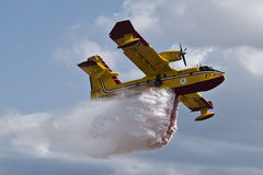 Bombardier 415 Superscooper Stock Image