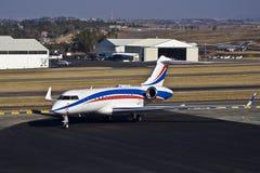 Bombardier BD-700-1A11 5000 globali Fotografia Stock Libera da Diritti
