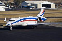 Bombardier BD-700-1A11 Globale 5000 Royalty-vrije Stock Afbeeldingen