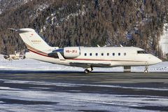 Bombardier BD-100-1A10 Challenger 350 Royalty Free Stock Photography
