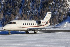 Bombardier BD-100-1A10 Eiser 350 Stock Fotografie