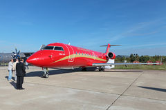 Bombardier Canadair Regional Jet Royalty Free Stock Photo