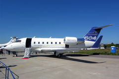 Bombardier Challenger 604 Stock Photos