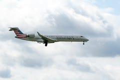 Bombardier CL-600-2C10 Royaltyfri Bild