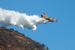 Bombardier CL-415 Super Scooper 246 Firefighting Aircraft Royalty Free Stock Photo