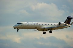Bombardier CRJ 700 Royalty Free Stock Photography