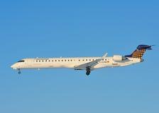 Bombardier CRJ-900 di Eurowings Fotografia Stock