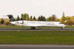 Bombardier CRJ-700 Royalty Free Stock Image