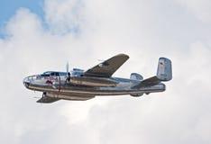 Bombardier de B-25 Mitchell Image libre de droits