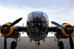 Bombardier de B-25 Mitchell images libres de droits
