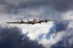 Bombardier de Boeing B-17 photographie stock libre de droits