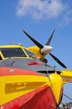 Bombardier de feu de Canadair CL415 Photo libre de droits